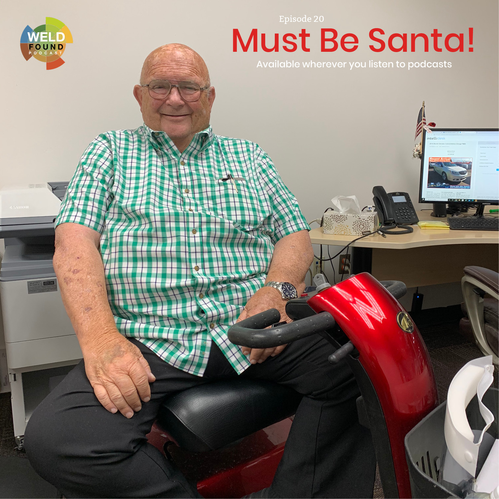 Weld Found Podcast: Must Be Santa
